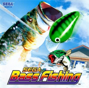 Sega Bass Fishing PAL DC-front